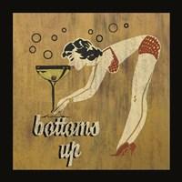 Bottoms Up Framed Print