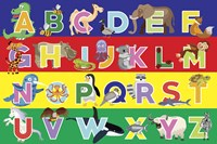 Alphabet Puzzle by Erin Clark - various sizes, FulcrumGallery.com brand