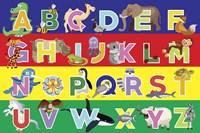 Alphabet Puzzle Fine Art Print