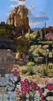 Desert Oasis 1 Fine Art Print