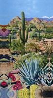 Desert Oasis 2 Framed Print
