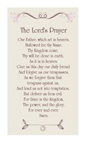 The Lord's Prayer - Floral Fine Art Print