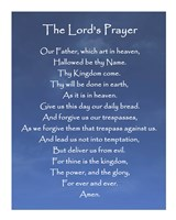 The Lord's Prayer - Blue Sky Fine Art Print