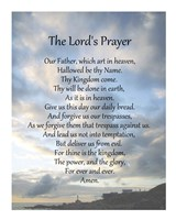 The Lord's Prayer - Scenic Framed Print