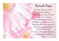 Lord's Prayer - Floral Fine Art Print