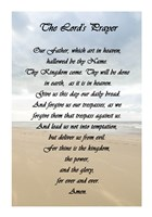 The Lord's Prayer - Beach Fine Art Print