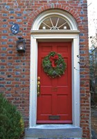 Red Door 117 Fine Art Print