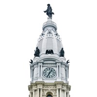 City Hall Spire I (Color) by Erin Clark - various sizes