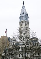 City Hall (flag) (Color) by Erin Clark - various sizes