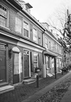 Red Row II (b/w) by Erin Clark - various sizes