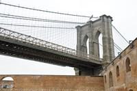 Brooklyn Bridge (brick walls) by Erin Clark - various sizes