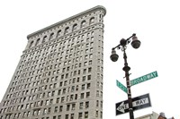 Flatiron Building with Lamp by Erin Clark - various sizes - $33.99