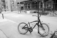 Village Bicycle (b/w) by Erin Clark - various sizes