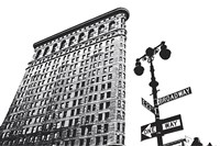 Flatiron (outline) Fine Art Print