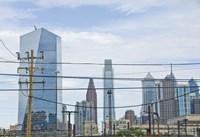 Industrial Skyline by Erin Clark - various sizes, FulcrumGallery.com brand