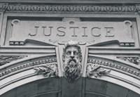 Justice (b/w) by Erin Clark - various sizes, FulcrumGallery.com brand
