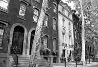 Delancy Street (horizontal) (b/w) Fine Art Print