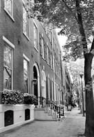 Delancy Street (vertical) (b/w) Fine Art Print