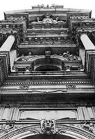 City Hall, Looking Up (b/w) by Erin Clark - various sizes