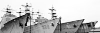 Four Ships (b/w) by Erin Clark - various sizes, FulcrumGallery.com brand
