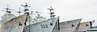 Four Ships Fine Art Print