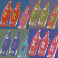 Wine Bottles Fine Art Print