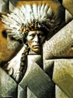 Chief Garfield - Jicarilla Apache Fine Art Print