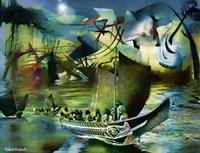 Northwest Boats Fine Art Print