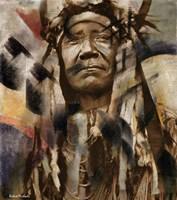 Two Moons - Cheyenne Fine Art Print