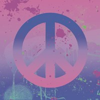 Psychedelic Peace by Erin Clark - various sizes