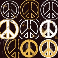 Peace Mantra (Yellow) by Erin Clark - various sizes