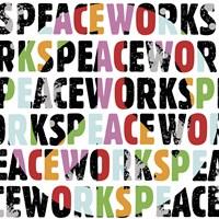 Peace Works (White) Framed Print