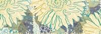 Flower Panel II Framed Print