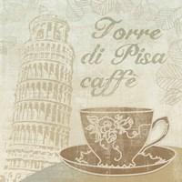 Caffe Pisa Fine Art Print