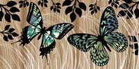 Butterfly Patchwork Fine Art Print