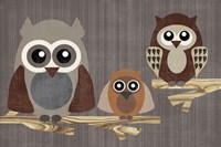 Owls by Erin Clark - various sizes - $35.49