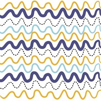 Wavy Lines by Erin Clark - various sizes, FulcrumGallery.com brand