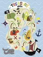 Treasure Map Fine Art Print
