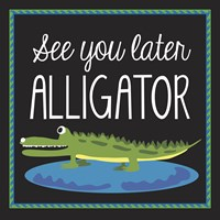 Alligator Fine Art Print