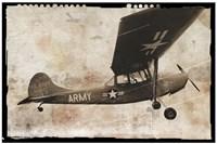 Army Plane Fine Art Print
