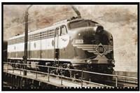 Erie Train 1 Fine Art Print