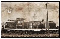 Erie Train 2 Fine Art Print