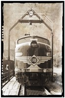 Erie Train Front by Erin Clark - various sizes - $30.49