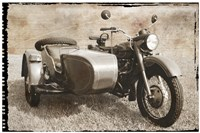 Ural Motorcycle 1 Framed Print