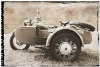 Ural Motorcycle 2 Fine Art Print