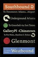 Atlanta Fine Art Print
