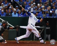 Alex Gordon 2015 Action Fine Art Print