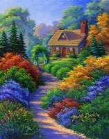 Nestled Cottage by Mark Daehlin - various sizes