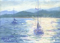 Northshore Sailboat Fine Art Print