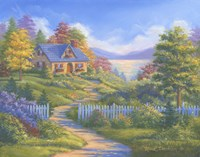 Summer Cottage by Mark Daehlin - various sizes